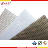 폴리탄산염 플라스틱 지붕은 쌍둥이 벽 빈 장을 깐다