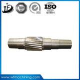 Мотор CNC стального сплава подвергая механической обработке/продето нитку/шестерни/редукторы/параллели/полые валы