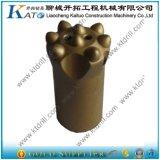 bit de tecla dos bits Drilling de rocha de 36mm/38mm/40mm usado em ferramentas do granito para a mineração