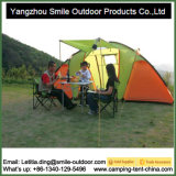 Proteção Contra Chuva do turismo no exterior Família Two-Room Camping tenda 6 Pessoa