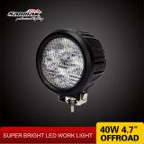 4.7 '' 40W redondos de la lámpara del trabajo del camino LED para el alimentador