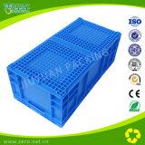 Caixas plásticas do armazenamento da boa qualidade para o armazém e as logísticas