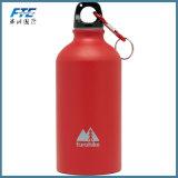 L'aluminium fait sur commande de sublimation de logo folâtre la bouteille d'eau