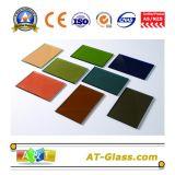 4mm 5mm 6mm 8mm 10mm Vidro Reflectivo / Vidro Colorido / Vidro Revestido Usado para Construção, Muro de Cortina