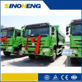 강한 구조 HOWO 6X4 18cbm 팁 주는 사람 트럭