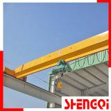 Ldのセリウム(0.5t、1t、2t、3t、5t、10t、16t、20トン)が付いている単一のガードのオーバーヘッドか橋クレーン