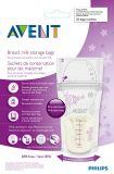 Течебезопасный мешок хранения молока груди