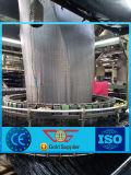 80g geotextil tejido PP del negro del rodillo del peso los 4.5m*100m para el mercado de Europa