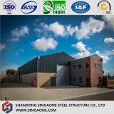 Estructura de acero prefabricada de construcción de almacén