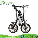 """Da """" bicicleta de dobramento única cidade do frame da liga da velocidade 14"""