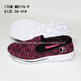 Самый последний Slip-on женщин низкой цены резвится вскользь ботинки (MB176-9)