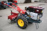 15 cv caminando el tractor con Rotary /Cultivador con asiento