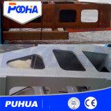 Träger-Rad-Granaliengebläse-Maschine der Rollen-Q69 der Förderanlagen-H