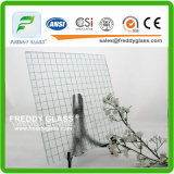 6.5mm Clear Parallel Wired Glass / Clear Parallel Wired Glass / Fire Retardant Glass / Parallel Fire Retardant Glass / Flame Resistant Glass