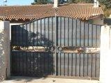 Classsic 디자인 석쇠 안전 철 입구 문