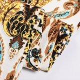 Ткань бархата полиэфира дешевая напечатала для подушки