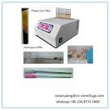 Máquina de la centrifugadora del gel del plasma