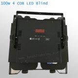4*100W LEDの穂軸の視覚を妨げるもののマトリックスの効果の聴衆ライト