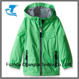 Revestimento de pouco peso do Windbreaker de Microfleece do menino