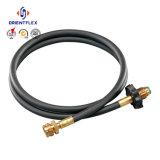 Mangueira reforçada do gás do LPG de 10 barras fibra flexível