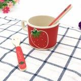 BPA geben Bambusfaser-Kind-trinkendes Cup/Becher frei (YK-BC4125)