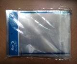 Duidelijke Transparante CD DVD Koker OPP met Blauwe Ray Logo