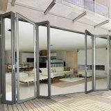 De bi-Vouwen van het Aluminium van de Materialen van de Woningbouw Glas die Deuren van China vouwen