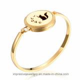 Bracelets de diffuseur d'huile essentielle plaqués par modèle le plus neuf de mode