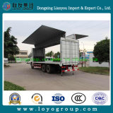 Sinotruk HOWO 날개 오프닝 Box Cargo 밴 Truck