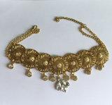 金および銀によってめっきされるネックレスの従来の優雅なネックレス
