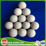 Contenido de alúmina inerte de alta pureza bolas de cerámica de alúmina