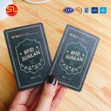 Impressão Offset personalizada OEM profissional Cartão de PVC