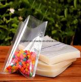 Sacchetto di plastica congelato trasparente termosaldato dell'alimento di vuoto