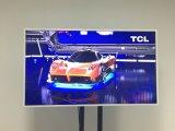 monitor montado en la pared del marco de la foto de 4K Digitaces