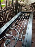卸し売り中国の機密保護のグリルは二重外部の鉄のドアを設計する