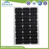 электрическая система 50W Mono и поли панели солнечных батарей для домашнего Moudle