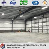 Grande Sinoacme Span Estrutura de aço acabados