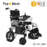 Topmediは高性能のFoldable力の電動車椅子中国にハンディキャップを付けた