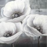 Flores simples hechas a mano de pintura al óleo la decoración del hogar