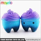 Горячая продажа Squishy Galaxy зуб PU медленным ростом Squishies игрушка