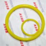 مصنع أصليّ لأنّ صفراء مطّاطة ختم صوف [و رينغ] صنع وفقا لطلب الزّبون أجزاء مطّاطة