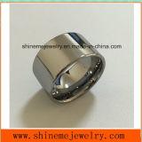 anillos masculinos anchos de la venta al por mayor de la fábrica de la joyería del tungsteno del anillo de 14m m (TST2877)