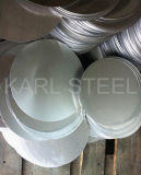 201 laminó el círculo del metal del acero inoxidable de la mejor calidad en China