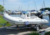 Liya 14FT Rib Hypalon bateau gonflable bateau gonflable rigide en fibre de verre