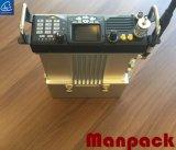 Manpack VHF baja dos Radio Radio de la base del vehículo con batería de alta capacidad