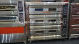 Forno elétrico do cozimento da alta qualidade 3-Deck 6-Tray de Hongling da fábrica real