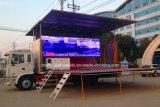 JAC 4X2 60 Quadratmeter bewegliches Stadiums-durchführenlkw-mit LED-Bildschirm