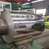 Целый ряд различных размеров из алюминиевых сплавов алюминия с катушкой различные поверхности