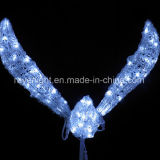 LEDのクリスマスLEDのモチーフは海つばめの照明装飾をつける