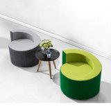 Tipo cadeira pública do bolo do sofá do lazer com cores diferentes da tela